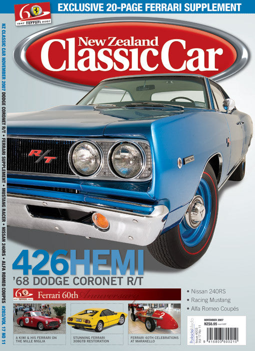 New Zealand Classic Car 203, November 2007