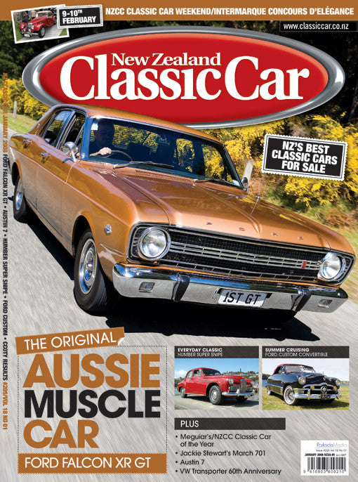 New Zealand Classic Car 205, January 2008