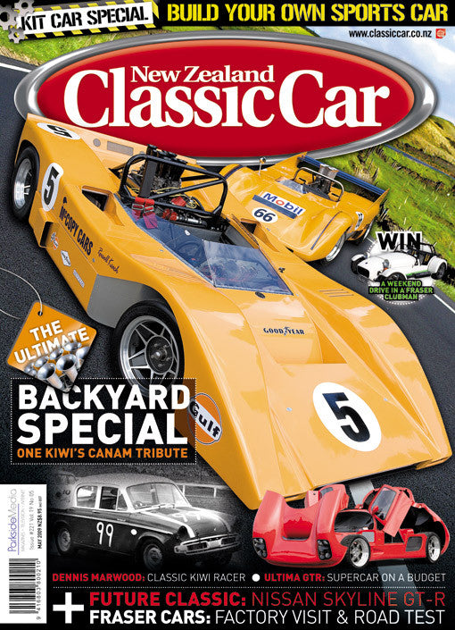 New Zealand Classic Car 221, May 2009