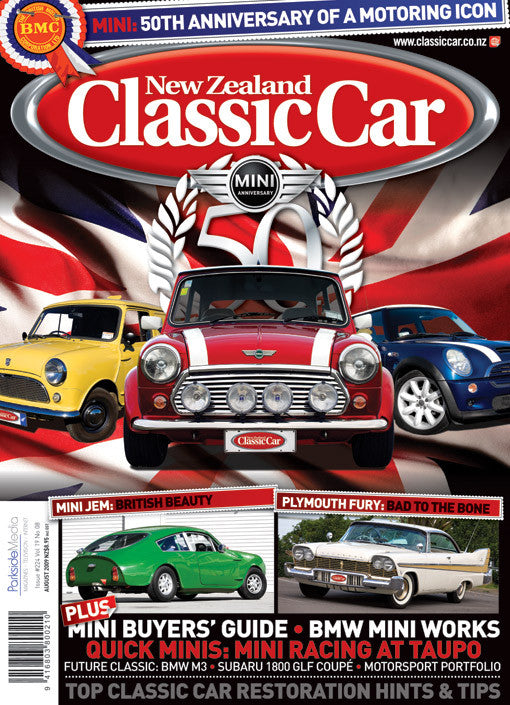New Zealand Classic Car 224, August 2009