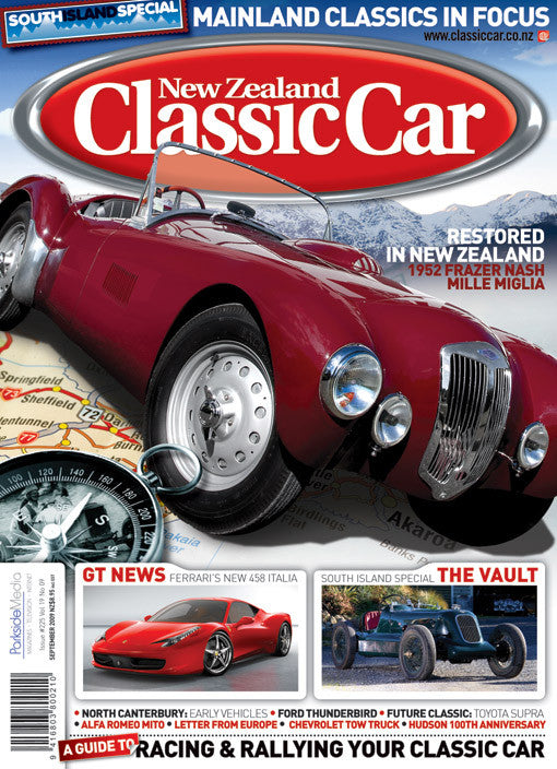New Zealand Classic Car 225, September 2009