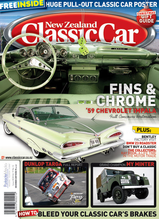 New Zealand Classic Car 228, December 2009