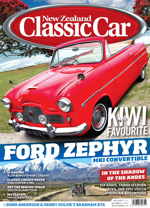 New Zealand Classic Car 265, January 2013