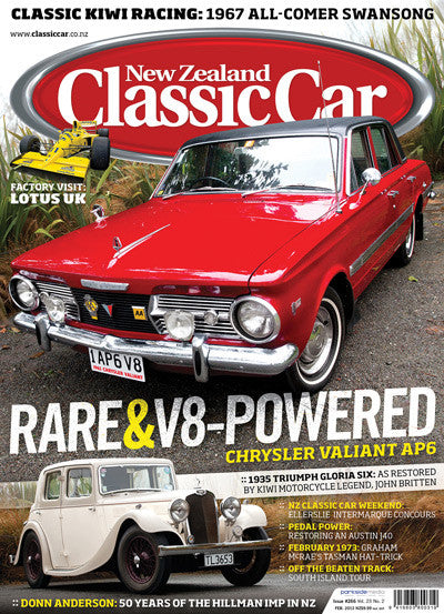 New Zealand Classic Car 266, February 2013