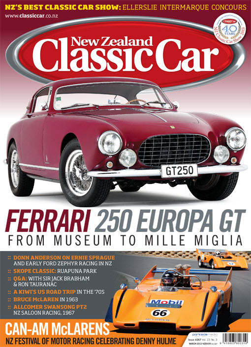 New Zealand Classic Car 267, March 2013
