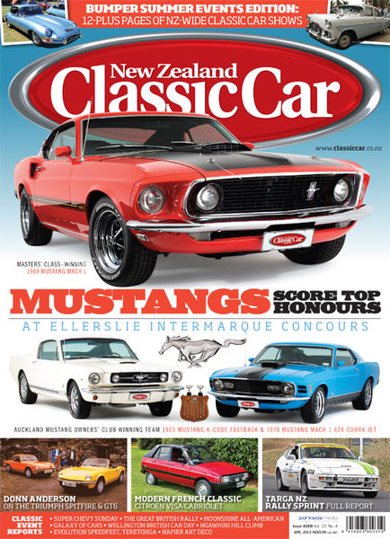 New Zealand Classic Car 268, April 2013