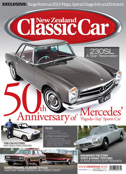New Zealand Classic Car 269, May 2013