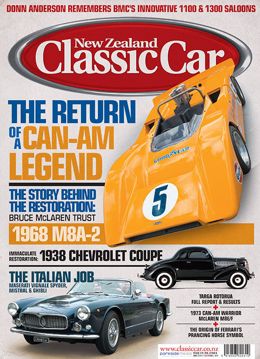 New Zealand Classic Car 270, June 2013