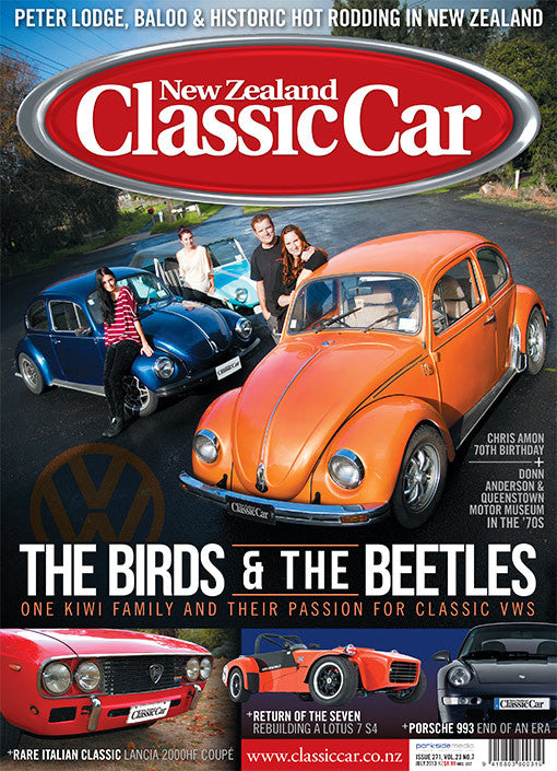 New Zealand Classic Car 271, July 2013