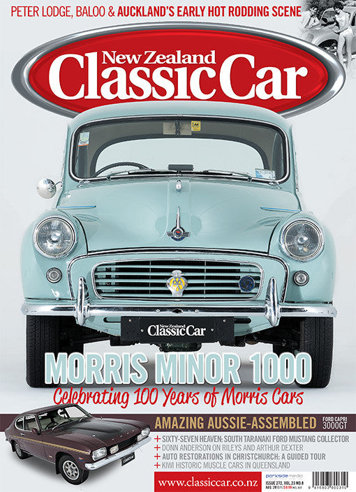 New Zealand Classic Car 272, August 2013