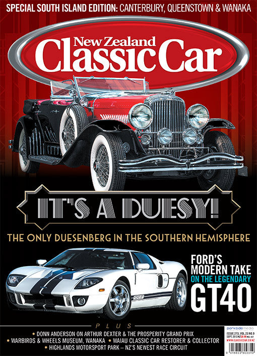 New Zealand Classic Car 273, September 2013