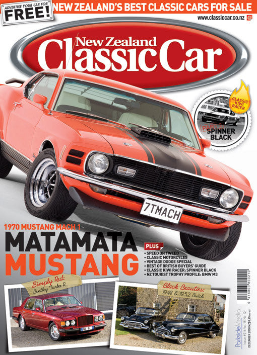 New Zealand Classic Car 216, December 2008