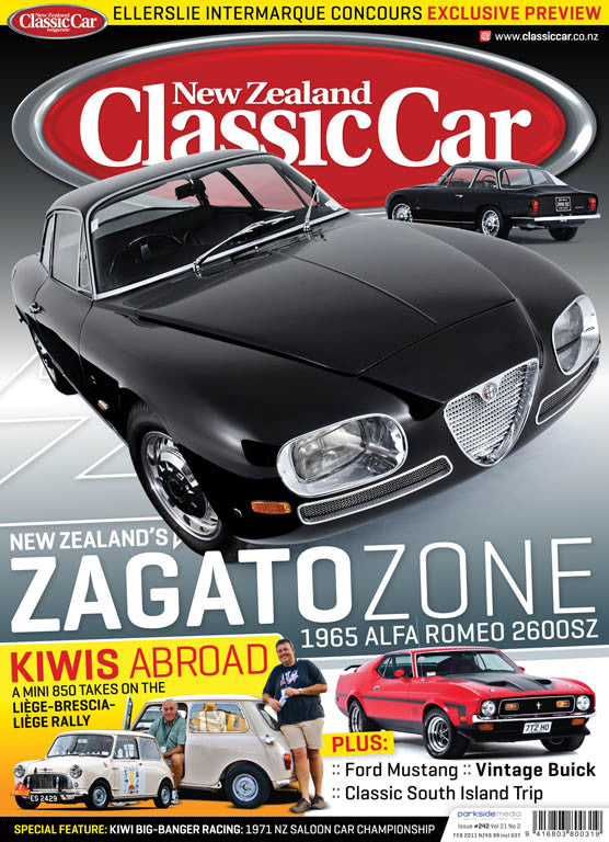 New Zealand Classic Car 242, February 2011