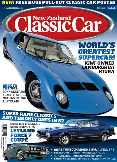 New Zealand Classic Car 262, October 2012