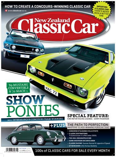 New Zealand Classic Car 245, May 2011
