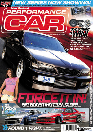 NZ Performance Car 128, August 2007