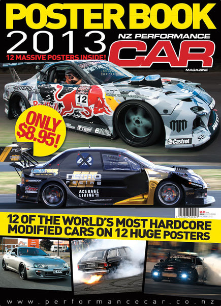 NZ Performance Car Special Edition — Poster Book 2013