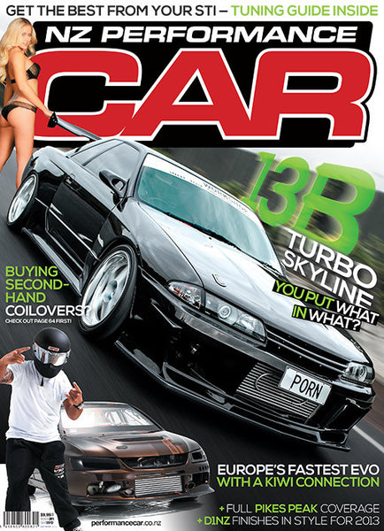NZ Performance Car 201, September 2013