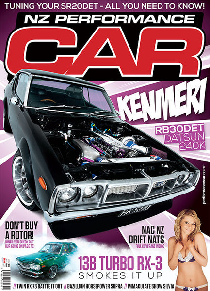 NZ Performance Car 203, November 2013