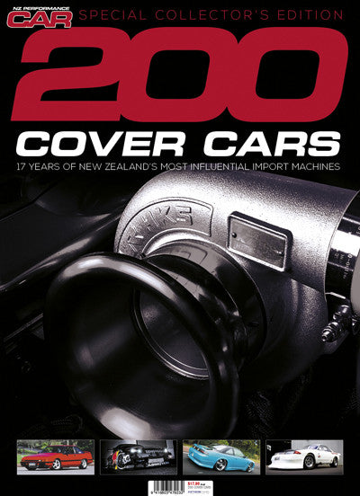 NZ Performance Car Collectors Edition — 200 Cover Cars