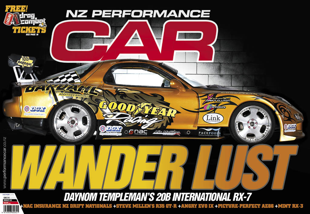 NZ Performance Car 168, December 2010