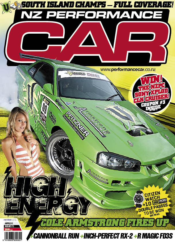 NZ Performance Car 172, April 2011