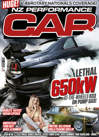 NZ Performance Car 207, March 2014