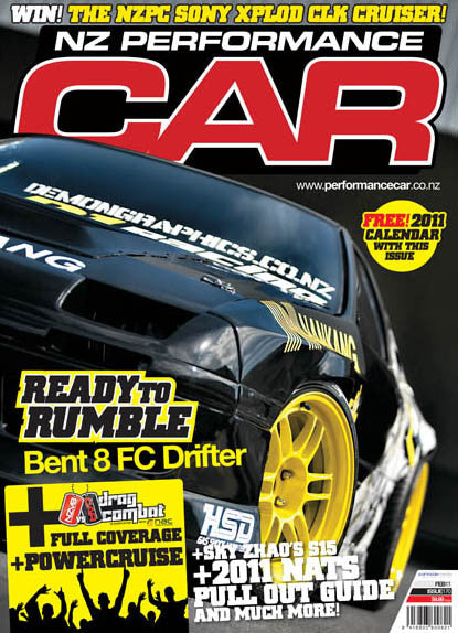 NZ Performance Car 170, February 2011