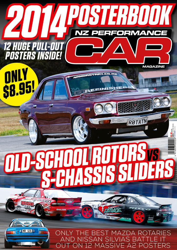 NZ Performance Car Special Edition — Poster Book 2014