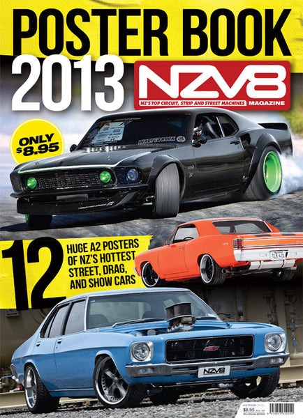 NZV8 Special Edition — Poster Book 2013