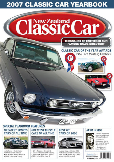 New Zealand Classic Car — Yearbook 2007