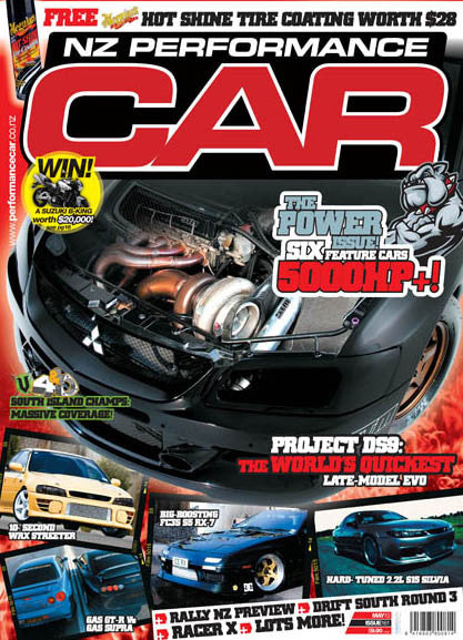 NZ Performance Car 161, May 2010