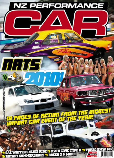 NZ Performance Car 160, April 2010