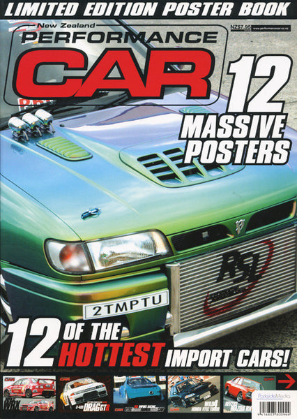 NZ Performance Car Special Edition — Limited Edition Poster Book