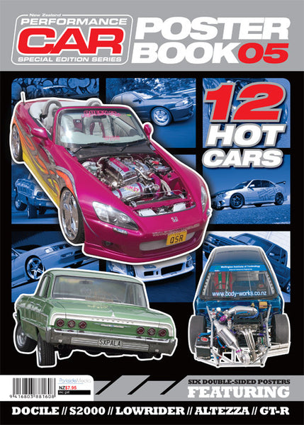 NZ Performance Car Special Edition — Poster Book 2005