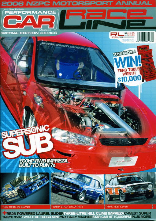 NZ Performance Car Special Edition — Raceline 2006