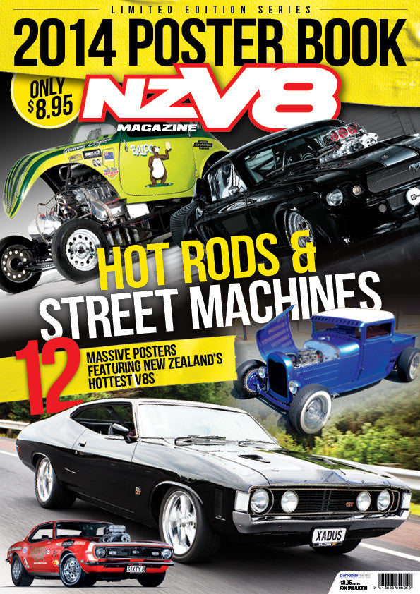 NZV8 Special Edition — Poster Book 2014