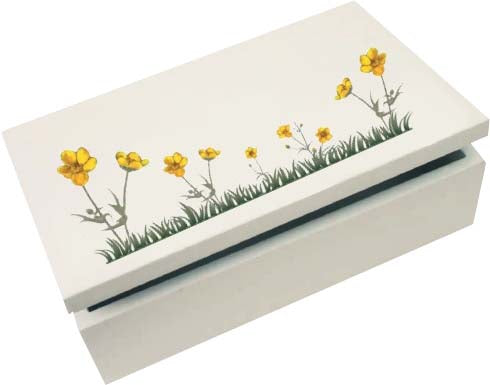 BC024-BC025 Buttercup Trinket Boxes