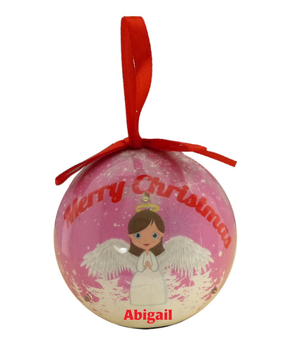 BF019-BF118 Flashing Baubles - Girls Names