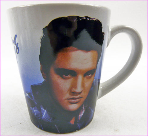 CM040 - Elvis Blue Shirt 9Oz Mug