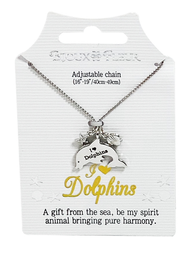 DPN001-052 - Dolphin Necklaces - Generic Titles