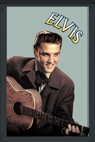 E007 - Elvis And Guitar Mirror