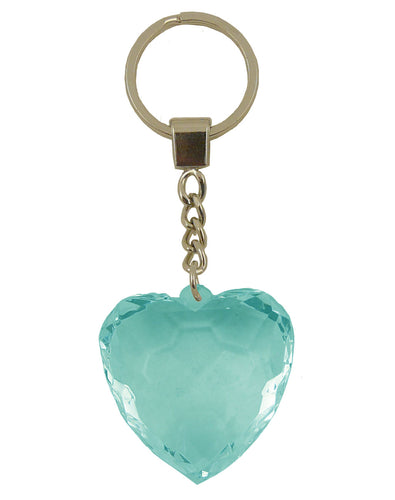 HK001-HK030 Diamond Heart Keyrings - Generic Titles