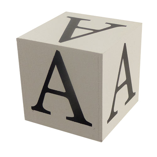 IB001-IB050 Wooden Alphabet Blocks