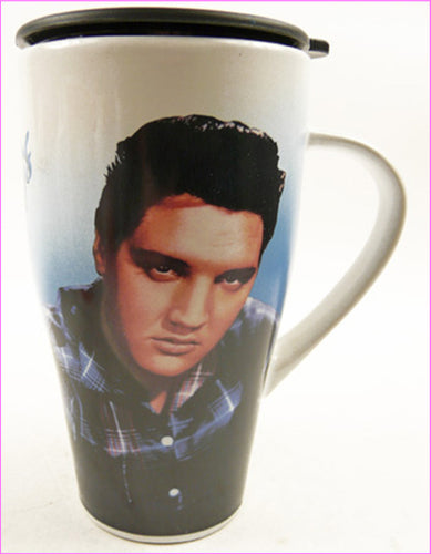 IC129 - Elvis Loving You Travel Mug