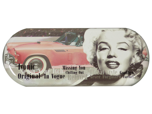 IC145 - Marilyn Image With Car Glasses Case