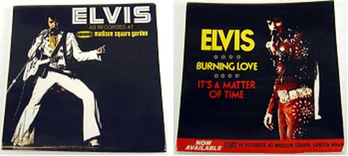 IC38082 - Elvis Cover Design Small Plates