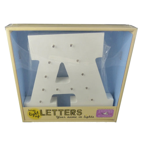 LG00A-LG00Z Large Light-Up Letters