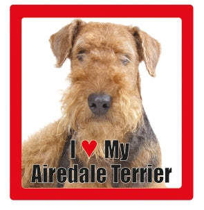 Airedale Terrier Pet Coaster