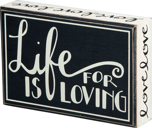PK3293 - Pk Life Is Loving Hanging 7 Square Box